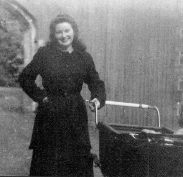 Patty Butler joins the household staff in 1947
