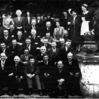 Photograph of the staff at Fota from 1948